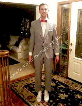 Homemade Pee Wee Herman Costume