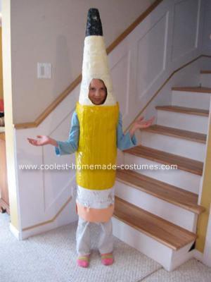 Homemade Pencil Costume