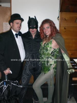 Homemade Poison Ivy from Batman Costume