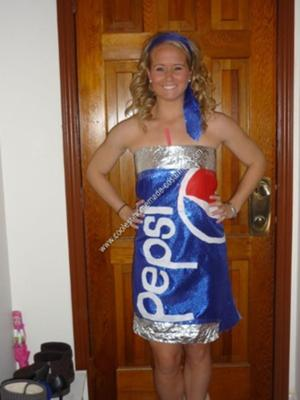 Homemade Pop Cans Group Halloween Costume Ideas