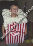 Homemade PopCorn Box Costume