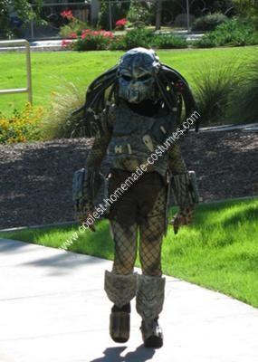 Homemade Predator Costume