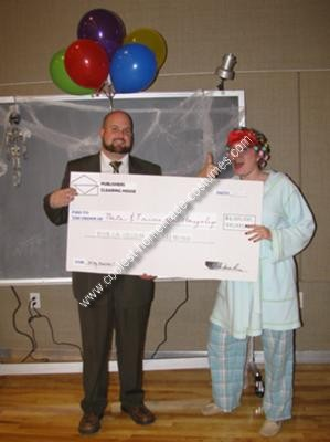 Homemade Publisher Clearing House Couple Costumes
