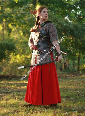 Homemade Queen Susan Costume 8 from The Chronicles of Narnia: Prince Caspian