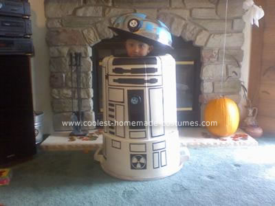 Homemade R2D2 Star Wars Costume
