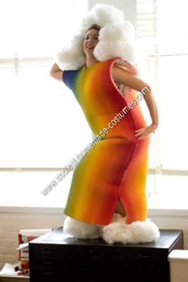 Homemade Rainbow Halloween Costume Idea