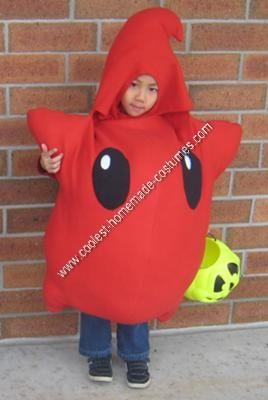 Homemade Red Luma Halloween Costume Idea