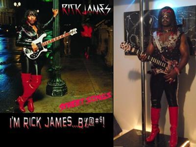 Homemade Rick James Halloween Costume