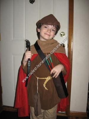 Homemade Robin Hood Halloween Costume