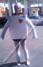 Homemade Robot with Lights Costume