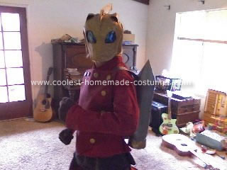Homemade Rocketeer Costume