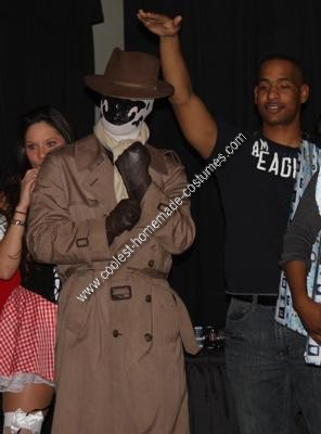 Homemade Rorschach Costume