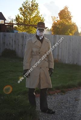 Homemade Rorschach Halloween Costume