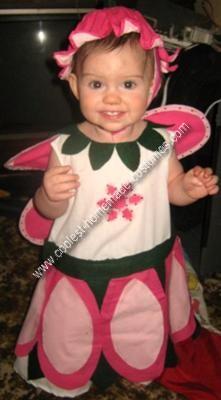 Homemade Rose Petal Fairy Costume