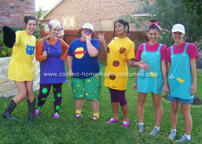 Homemade Rugrats Group Costume