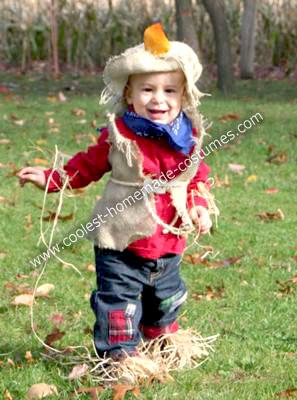 Homemade Scarecrow Costume