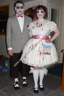 Homemade Scary Doll Costumes