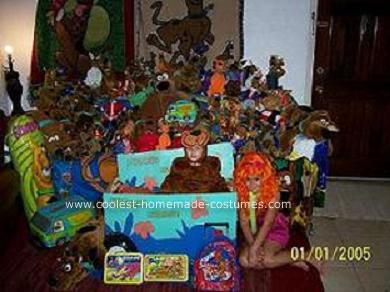 Homemade Scooby Doo Halloween Costume