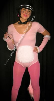 Homemade Sexy Pink Panther Costume
