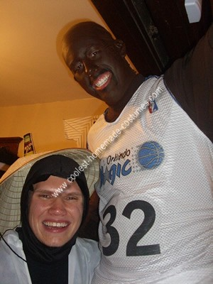 Homemade Shaquille O'Neal Costume