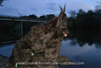 Homemade She Werewolf Costume