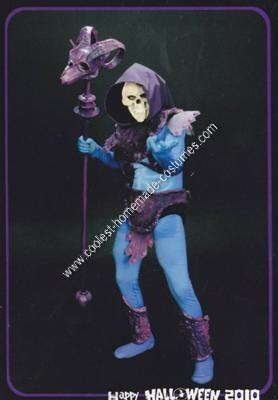Homemade Skeletor Halloween Costume