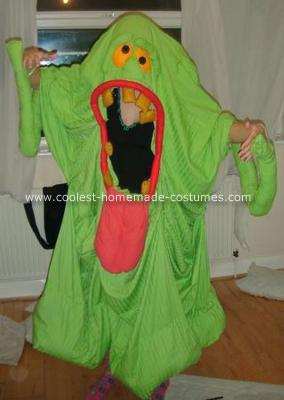 Homemade Slimer Costume