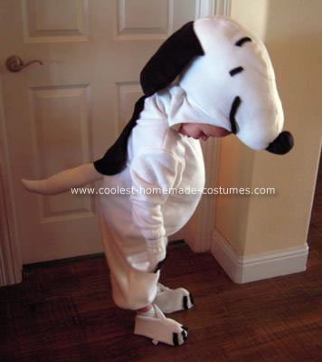 Homemade Snoopy Costume