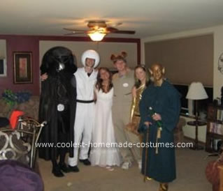 Homemade Spaceballs Costume