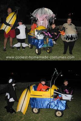 Homemade Submarine Costume