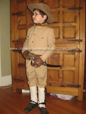 Homemade Teddy Roosevelt Costume
