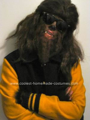 Coolest Homemade Teen Wolf Halloween Costume 8. by Anastasia N.
