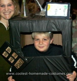 Homemade Television Costume