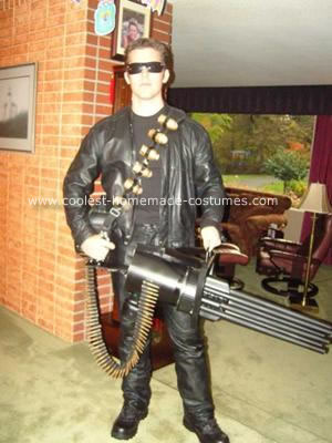 Terminator Costume Display Mannequin and Themed Base - Tom Spina ...
