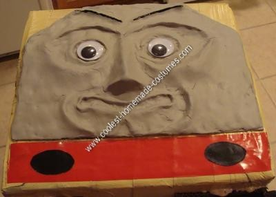 Homemade Thomas the Train's Diesel 10 Halloween Costume Idea