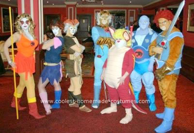 Thunder Cats Characters on Coolest Homemade Thundercats Group Costume 3