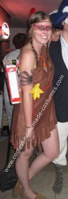 Homemade Tiger Lily Costume