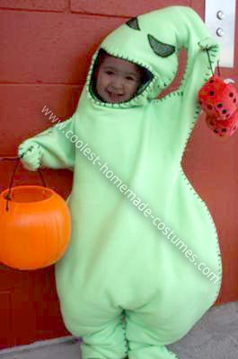 Homemade Toddler Oogie Boogie Halloween Costume
