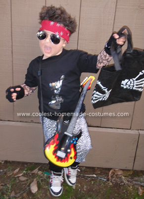 Homemade Tommy Lee Costume