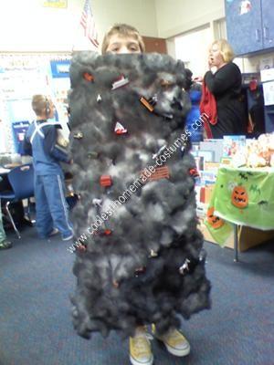 Homemade Tornado Halloween Costume Idea