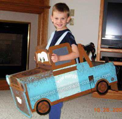 Coolest Tow Mater From Cars Cake Ideas
