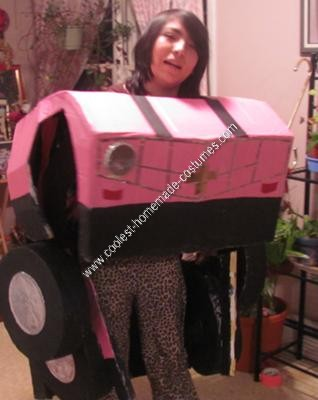 Homemade Transformer (that actually transforms) Halloween Costume