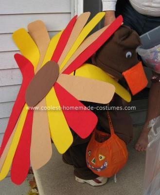 Homemade Turkey Costume