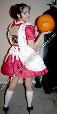 Homemade Vicki Costume...