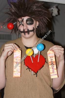 Homemade Voodoo Doll Halloween Costume Idea