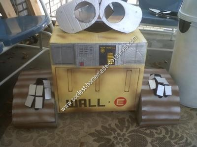 Homemade Wall E and Eve Halloween Costumes
