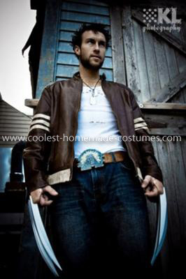 Coolest Homemade Wolverine Costume
