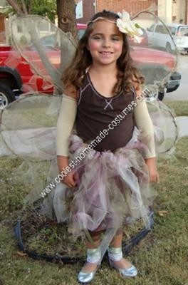 Homemade Woodland Fairy Halloween Costume Idea