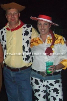 Homemade Woody and Jesse from Toy Story Costumes