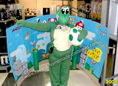Yoshi from Super Mario World Costume
